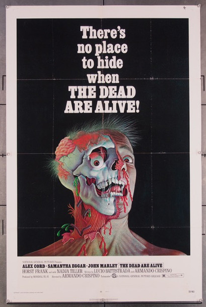 DEAD ARE ALIVE,THE (1972) 27150 Original National General Pictures 1972 Release One Sheet Poster (27x41) Directed by Armando Crispino
