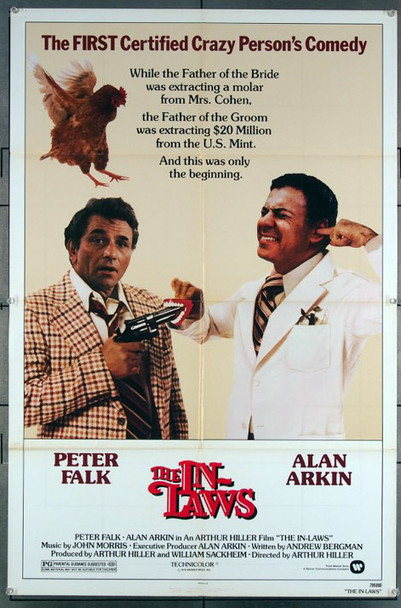 IN-LAWS, THE (1979) 27213 An original Warner Brothers 1979 Release One Sheet Poster (27x41) Directed by Arthur Hiller