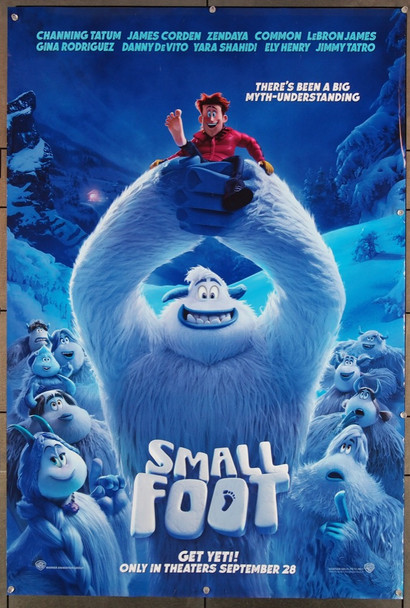 SMALLFOOT (2018) 27836 Warner Brothers Original U.S. One-Sheet Poster (27x40) Rolled  Fine Plus