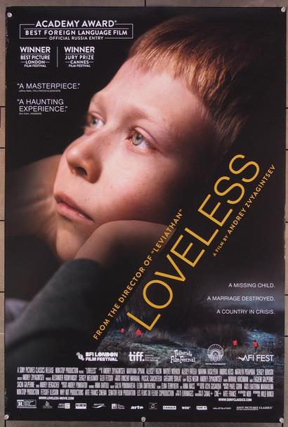 loveless (2017) 27830 Fetisoff Illusion Original U.S. One-Sheet Poster (27x40) Rolled  Fine Plus condition