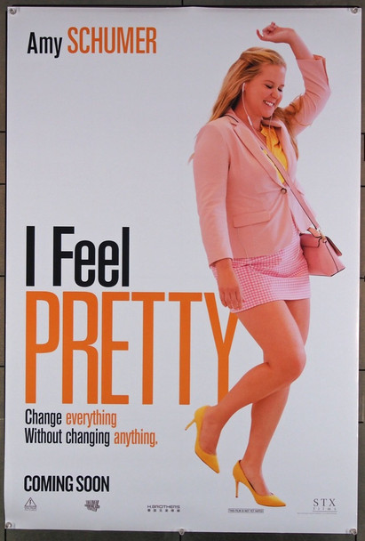 I FEEL PRETTY (2018) 27828 STX Entertainment Original Advance U.S. One-Sheet Poster (27x40) Rolled  Very Fine