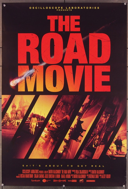 ROAD MOVIE, THE (2016) 27835 Oscilloscope Pictures Original U.S. One-Sheet Poster (27x40) Rolled  Fine Plus Condition