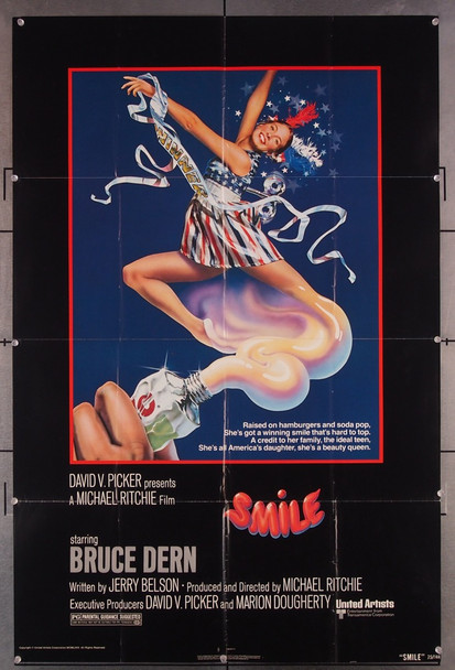 SMILE (1975) 6676 United Artists Original U.S. One-Sheet Poster (27x41) Very Good Condition  Art by John Alvin