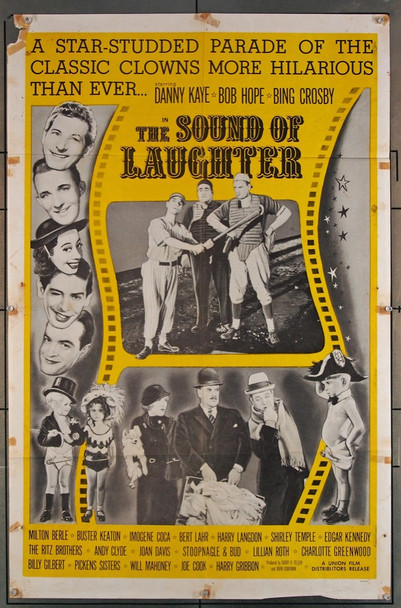 SOUND OF LAUGHTER, THE (1963) 701 Union Film U.S. One-Sheet Poster (27x41)