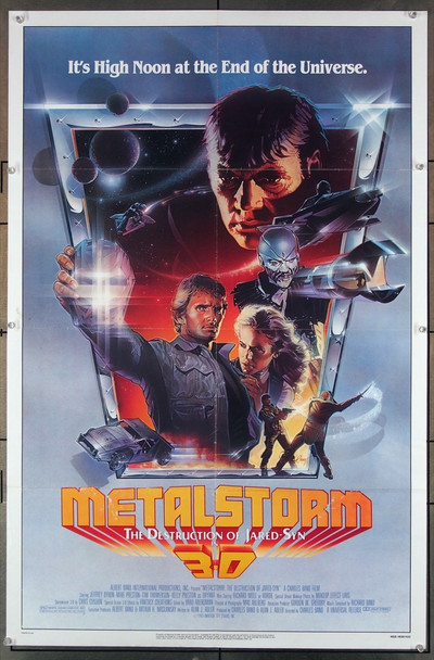 METALSTORM: THE DESTRUCTION OF JARED-SYN    (1983) 10498 AIMI Pictures Original U.S. One-Sheet Poster (27x41) Folded  Very Fine Condition