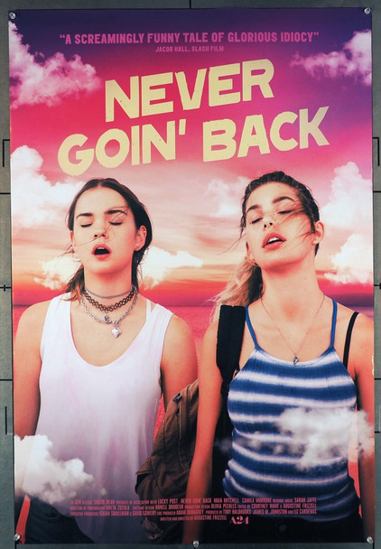 NEVER GOIN' BACK (2018) 27908 A24 Original One Sheet Poster (27x40).  Double-Sided.  Rolled.  Fine Plus Condition.
