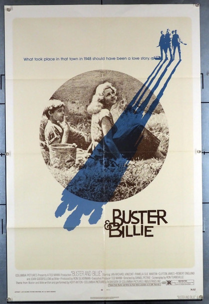 BUSTER AND BILLIE (1974) 12148 Columbia Pictures Original U.S. One-Sheet Poster (27x41)  Folded  Very Good Condition