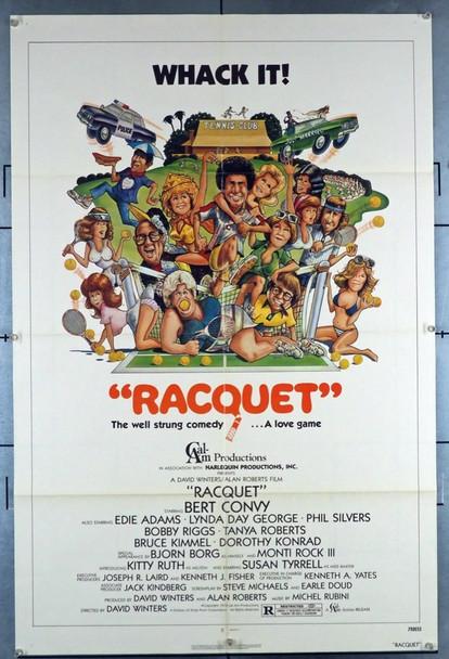 RACQUET (1979) 27993 Cal Am Original U.S. One-Sheet Poster (27x41) Style B  Very Fine Condition