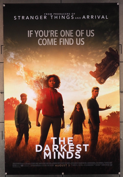 DARKEST MINDS, THE (2018) 27896 Original 20th Century-Fox One Sheet Poster (27x41).  Double-Sided.  Rolled.  Fine to Very Fine Condition.