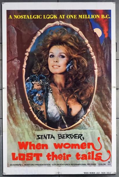 QUANDO LA DONNE PERDONO I LORO CODICI (1972) 27995 Original U.S. One-Sheet Poster (27x41).  Folded.  Fine Condition.