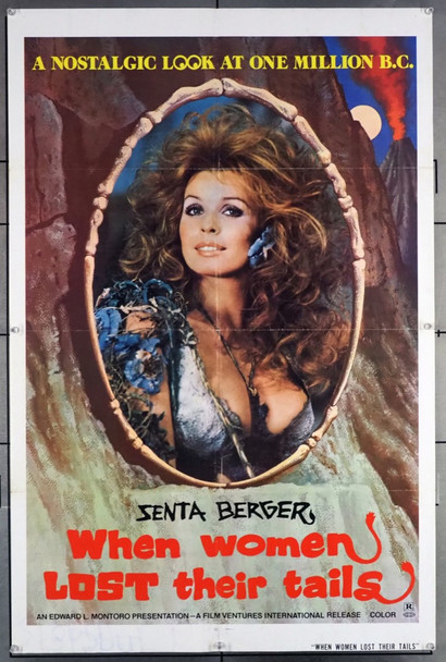 QUANDO LA DONNE PERDONO I LORO CODICI (1972) 27995 Original U.S. One-Sheet Poster (27x41).  Folded.  Fine Condition.
