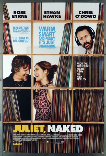 JULIET, NAKED (2018) 28077 Original Stage 6 Films One Sheet Poster (27x40).  Double-Sided.  Rolled.  Very Fine Condition.