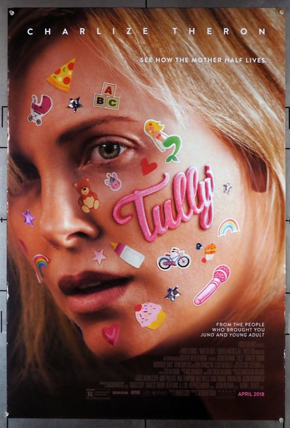 TULLY (2018) 28084 Original Focus Features One Sheet Poster (27x40).  Double-Sided.  Rolled.  Fine Condition.