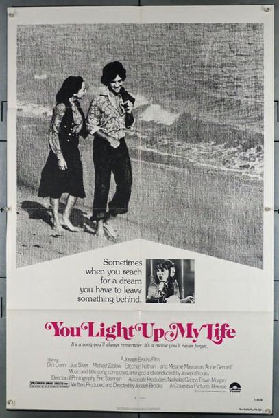 YOU LIGHT UP MY LIFE (1977) 3813 Original Columbia Release One Sheet Poster (27x41).  Folded.  Very Fine Condition.