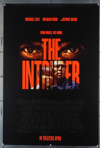 INTRUDER, THE (2019) 28146 Original Screen Gems One Sheet Poster (27x41).  Double-Sided.  Rolled.  Fine Condition.