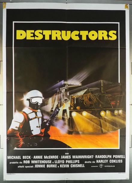 BATTLETRUCK (1982) 27974 Original Italian 2 Fogli Poster (39x55).  Folded.  Fine Condition.