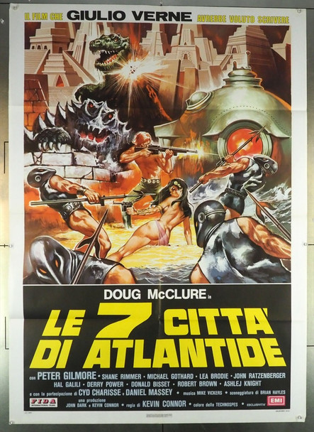 WARLORDS OF THE DEEP (1978) 27987 Original Italian 2 Fogli Poster (39x55).  Folded.  Fine Condition.