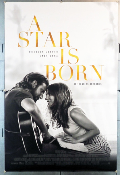 STAR IS BORN, A (2018) 28239 Warner Brothers Original U.S. One-Sheet Poster (27x40)  Rolled  Double Sided