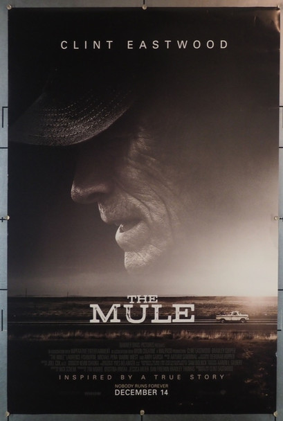 MULE, THE (2018) 28238 Warner Brothers Original U.S. One Sheet Poster (27x40)  Rolled  Very Fine Condition
