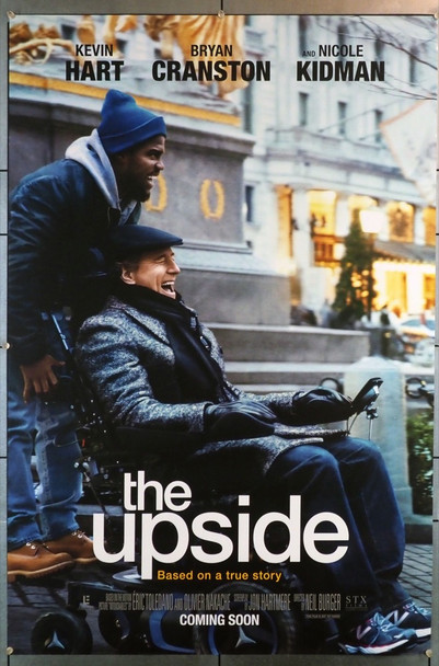 UPSIDE, THE ( 2017) 28242 STX Entertainment Original U.S. One Sheet Poster (27x40) Rolled  Very Fine