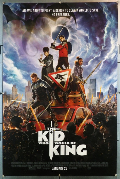 KID WHO WOULD BE KING, THE (2019) 28232 20th Century Fox Original U.S. One-Sheet Poster (27x40) Rolled Very Fine Condition
