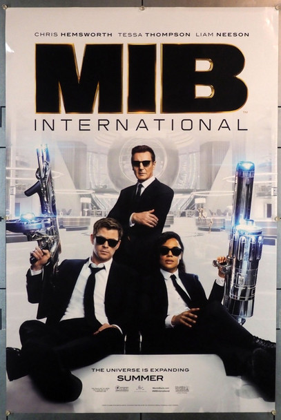 MEN IN BLACK: INTERNATIONAL (2019) 28237 Columbia Pictures Original U.S. One-Sheet Poster (27x40)  Double Sided  Very Fine  Rolled
