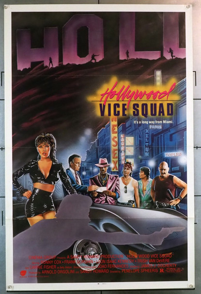 HOLLYWOOD VICE SQUAD (1986) 28364 Concorde Original U.S. One Sheet Poster  (27x41)  Tri Folded  Very Fine Condition
