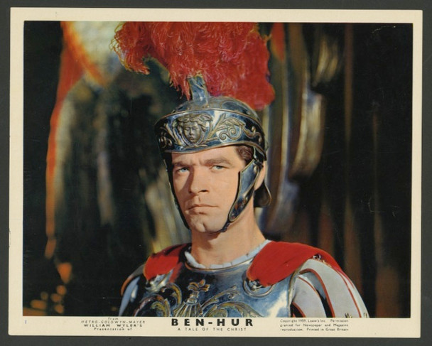 BEN-HUR (1959) 28367 MGM Original British Front of House Card (8x10) Color Lithograph  Roadshow