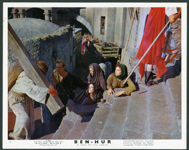 BEN-HUR (1959) 28369 MGM Original British Front of House Card  (8x10) Very Fine Condition