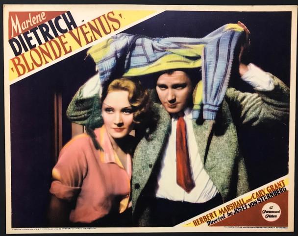 BLONDE VENUS (1932) 28383 Paramount Pictures Original U.S. Scene Lobby Card (11x14)  Very Fine Condition