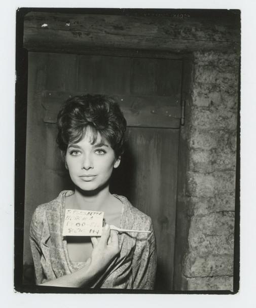 SUZANNE PLESHETTE (1963) 28409 Warner Brothers Studio Wardrobe Test Gelatin Silver Print (4x5)  Very Fine condition