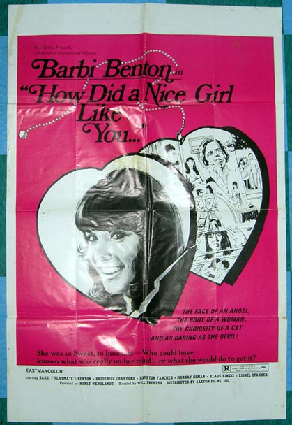 HOW DID A NICE GIRL LIKE YOU GET INTO THIS BUSINESS? (1975) 16286 Original U.S. One-Sheet Poster (27x41) Folded  Good Condition   Average Used Condition