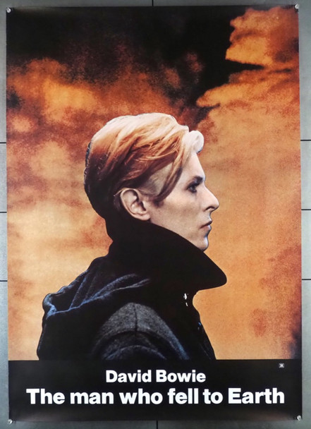 MAN WHO FELL TO EARTH, THE (1976) 28419 British Lion Films Original 30x42 Poster  Rolled  Very Fine