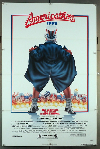 AMERICATHON (1979 ) 27112 Original United Artists One Sheet Poster (27x41).  Folded.  Very Fine.
