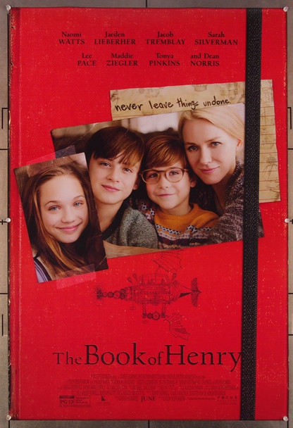 BOOK OF HENRY, THE (2017) 27081 Original Focus Features One Sheet Poster (27x41).  Rolled  Very Fine.
