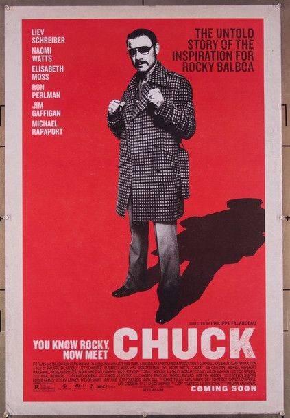 CHUCK (2016) 27082 Original IFC Films One Sheet Poster (27x41).  Rolled  Very Fine.