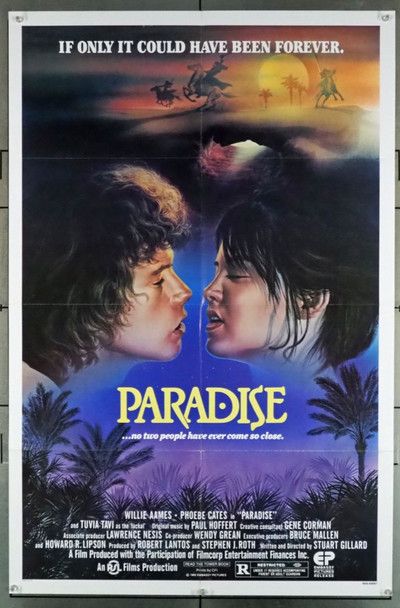 PARADISE (1982) 2922 Original U.S. One Sheet Poster (27x41)  Folded  Very Fine condition
