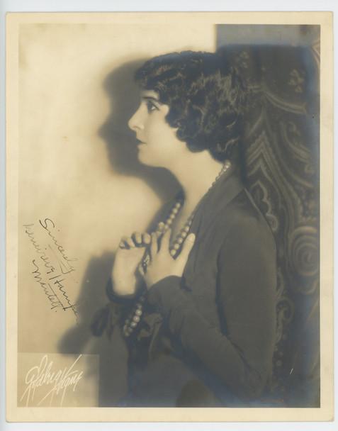 GENEVIEVE HAMPER (MANTELL)  28497   Gelatin Silver Print (8x10)  Circa 1930