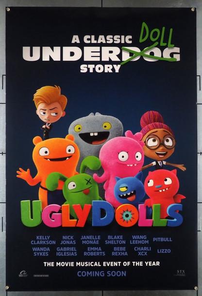 UGLYDOLLS (2019) 28556 STX Entertainment Original U.S. One Sheet Poster (27x40) Double Sided  Very Fine