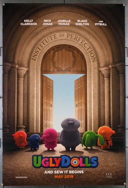UGLYDOLLS (2019) 28557 STX Entertainment Original One-Sheet Poster (27x40) Rolled  Very Fine