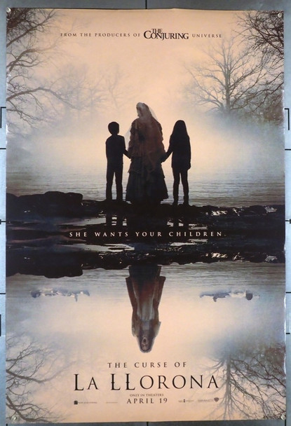 CURSE OF LA LLORONA, THE (2019) 28540 Warner Brothers Original U.S. One-Sheet Poster (27x40)  Rolled Double Sided  Very Fine