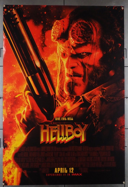 HELLBOY (2019) 28546 Lionsgate Original U.S. One-Sheet Poster (27x40) Rolled  Very Fine Condition