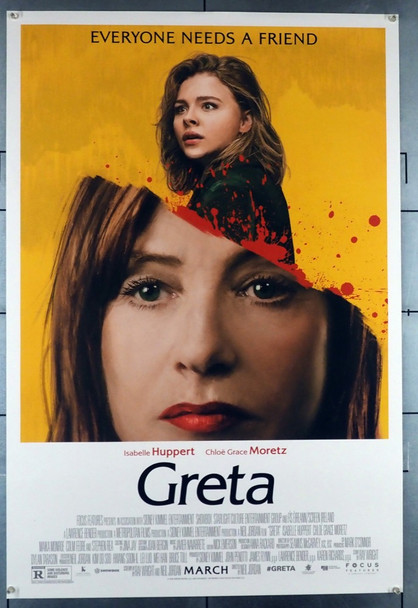GRETA (2018) 28545 Film and TV House Original U.S. One-Sheet Poster (27x40) Rolled,  Very Fine