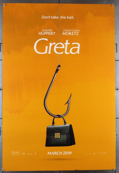 GRETA (2018) 28544 Film and TV House Original U.S. One-Sheet Poster (27x40)  Advance Style  Fine Plus Condition