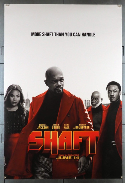 SHAFT (2019) 28553 New Line Cinema Original U.S. One-Sheet Poster (27x40) Rolled Very Good Plus