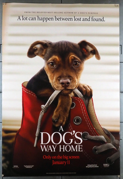 DOG'S WAY HOME, A (2019) 28542 Columbia Pictures Original U.S. One-Sheet Poster (27x40) Rolled Very Fine