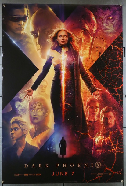 DARK PHOENIX (2019) 28541 21st Century Fox Original U.S. One-Sheet Poster (27x40) Rolled  Very Fine Condition
