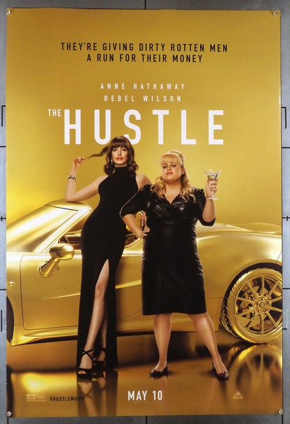 HUSTLE, THE (2019) 28547 MGM Original U.S. One-Sheet Poster (27x40) Rolled  Very Fine Condition