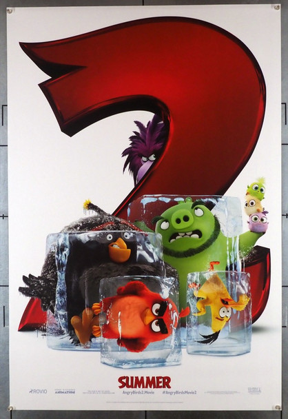ANGRY BIRDS MOVIE 2, THE (2019) 28452 Columbia PIctures Original U.S. One-Sheet Poster (27x40) Very Fine Plus Double Sided