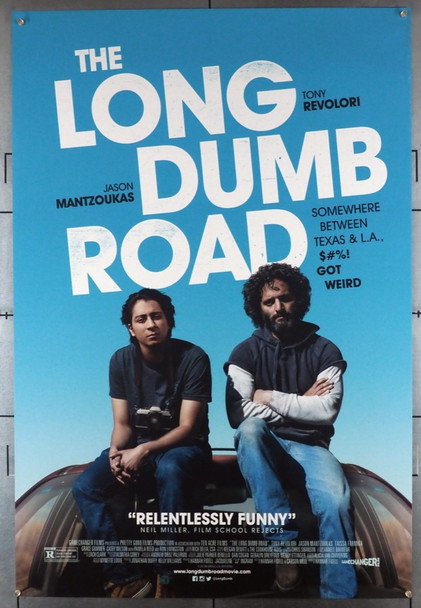 LONG DUMB ROAD, THE (2018) 28459 The Film Arcade Original U.S. One-Sheet Poster (27x40) Rolled  Very Fine